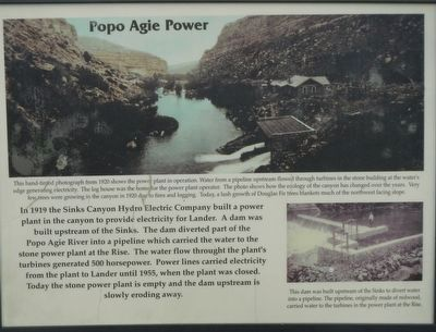 Popo Agie Power Marker image. Click for full size.
