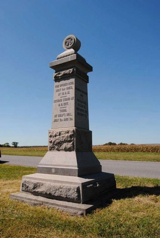 76th New York Infantry Monument image. Click for full size.