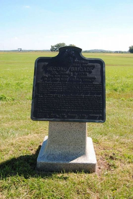 Second Brigade Marker image. Click for full size.