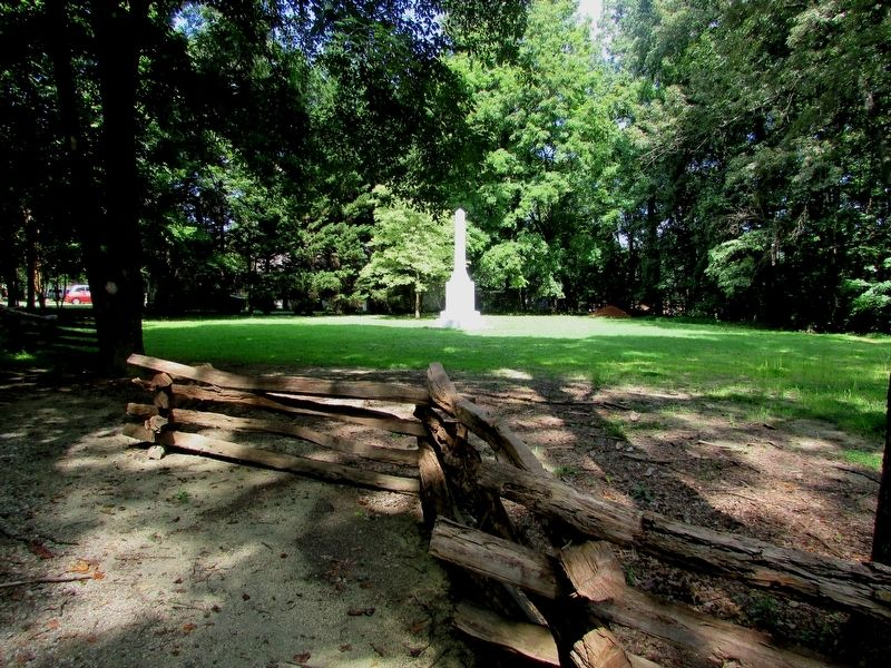 Crown Forces Monument at Guilford Courthouse image. Click for full size.