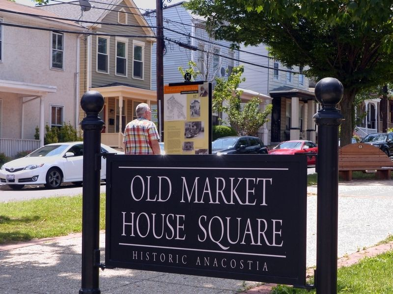 Old Market House Square<br>Historic Anacostia image. Click for full size.