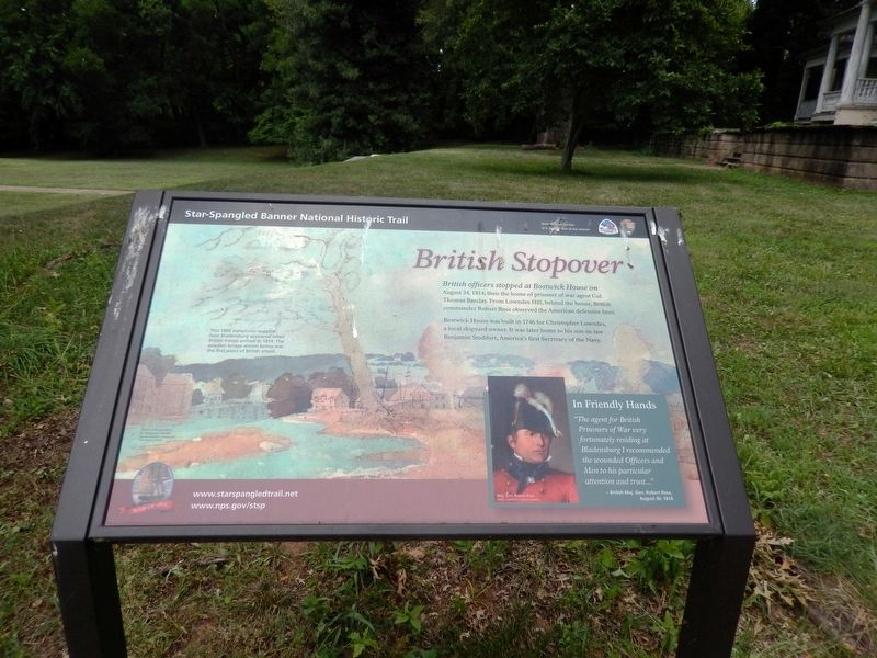 British Stopover Marker image. Click for full size.