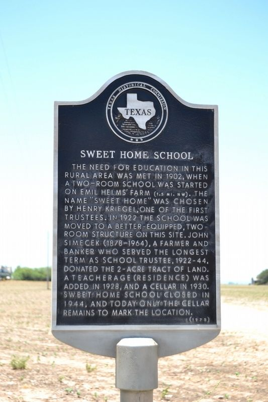 Sweet Home School Marker image. Click for full size.
