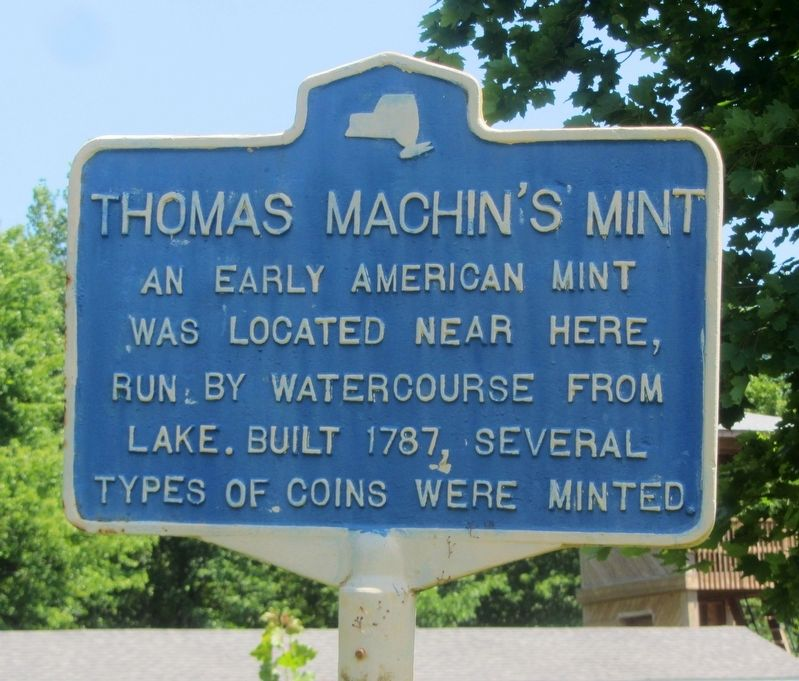 Thomas Machin�s Mint Marker image. Click for full size.