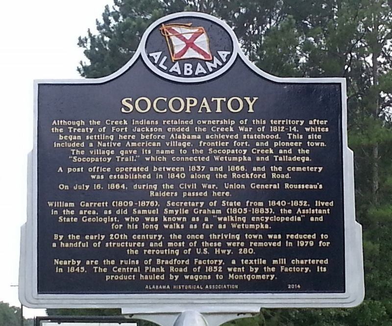 Socopatoy Marker image. Click for full size.