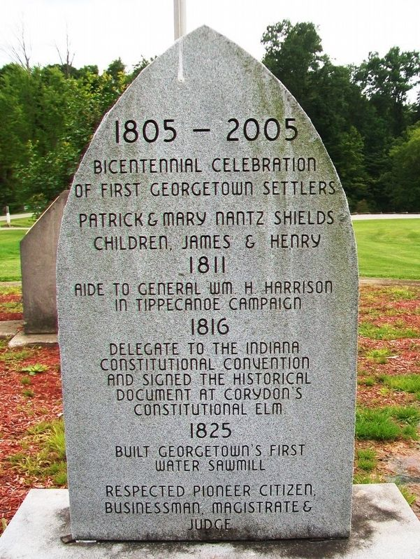Patrick Shields Marker image. Click for full size.