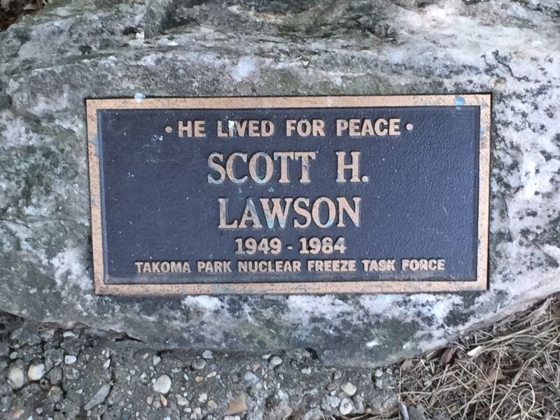 Scott H. Lawson Marker image. Click for full size.