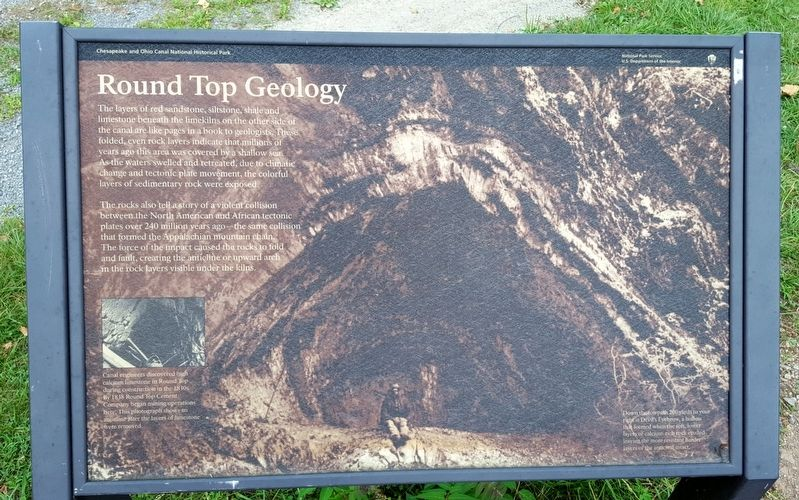 Round Top Geology Marker image. Click for full size.