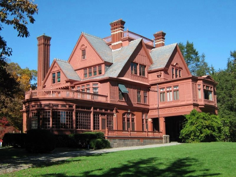Edison�s Home, exterior image. Click for full size.