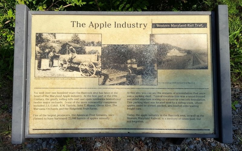 The Apple Industry Marker image. Click for full size.