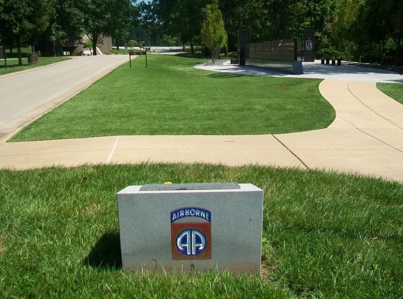 82nd Airborne Infantry Division US Army Marker image. Click for full size.