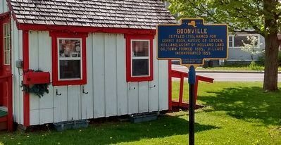 Boonville Marker image. Click for full size.
