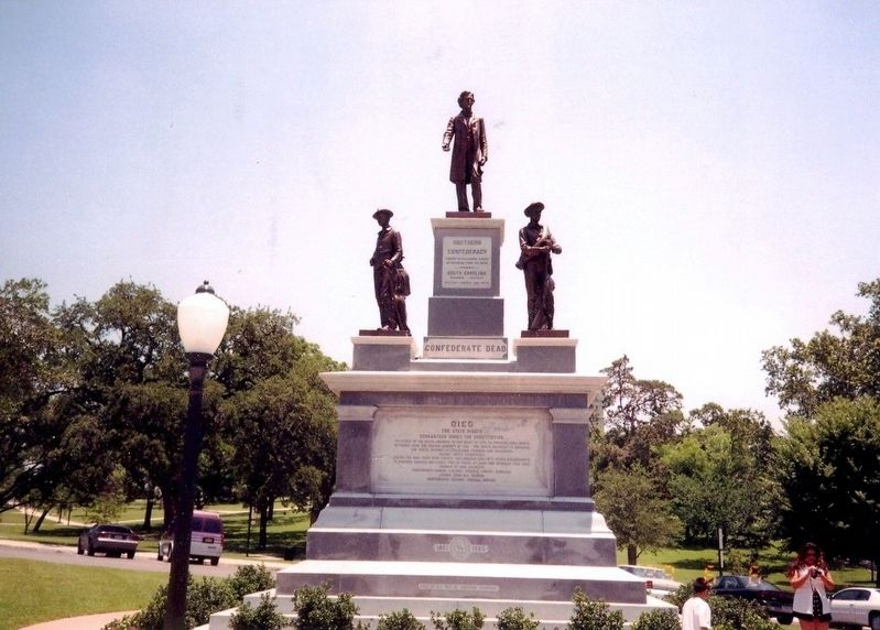 Southern Confederacy Monument image. Click for full size.