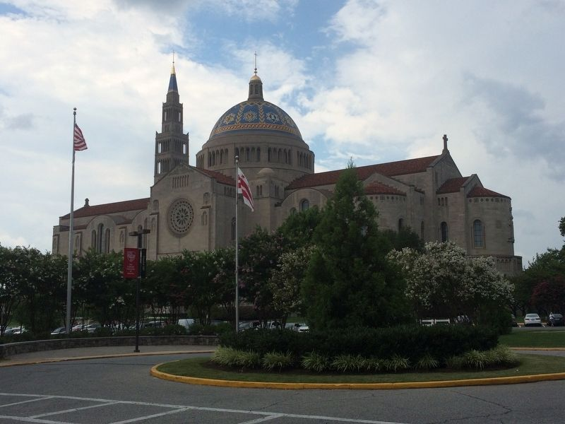 The National Shrine of the Immaculate Conception image. Click for full size.