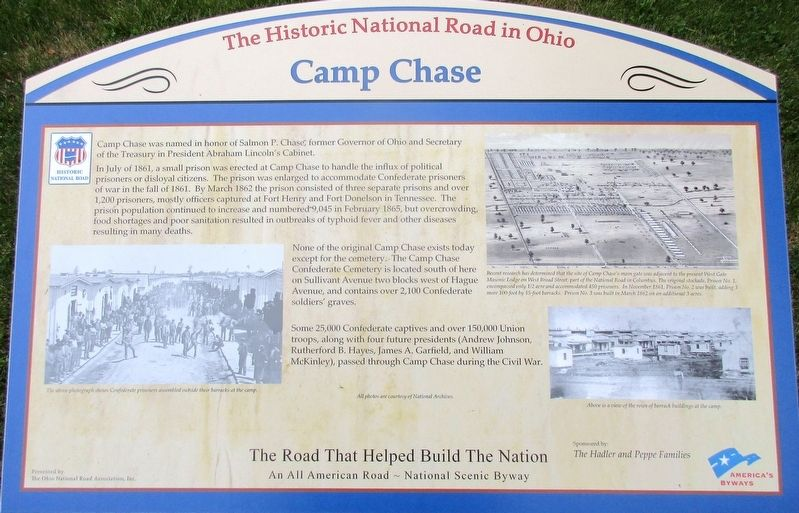 Camp Chase Marker image. Click for full size.