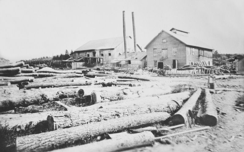 Stauffer Lumber Mill image. Click for full size.