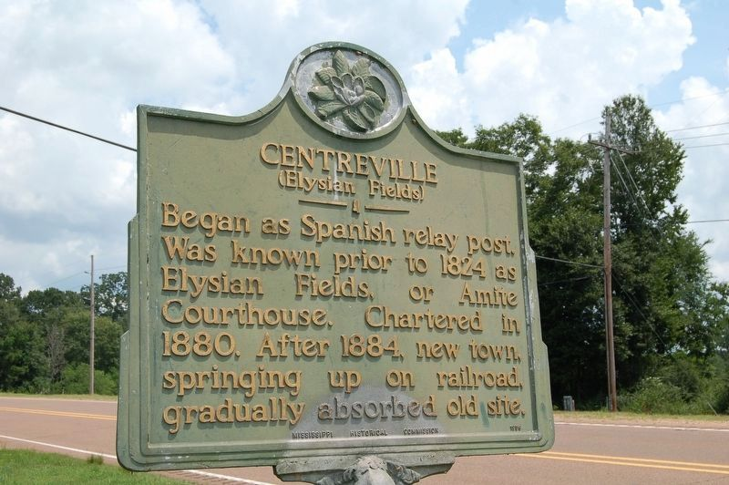 Centreville Marker image. Click for full size.