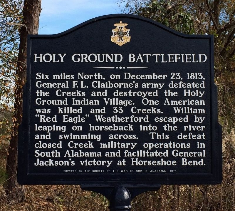 Holy Ground Battlefield Marker (Marker Repainted/Replaced) image. Click for full size.