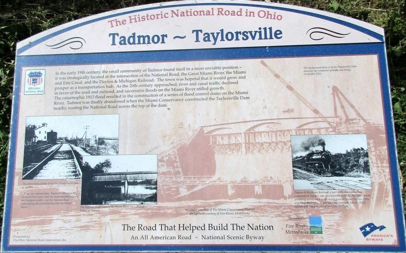 Tadmor - Taylorsville Marker image. Click for full size.