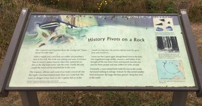 History Pivots on a Rock Marker image. Click for full size.