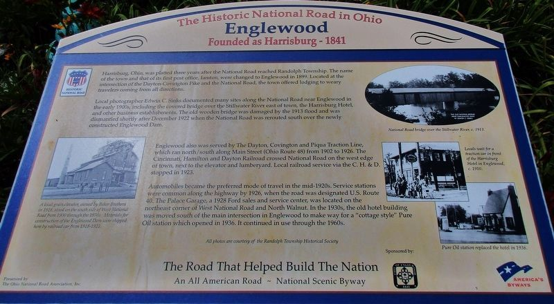 Englewood Marker image. Click for full size.
