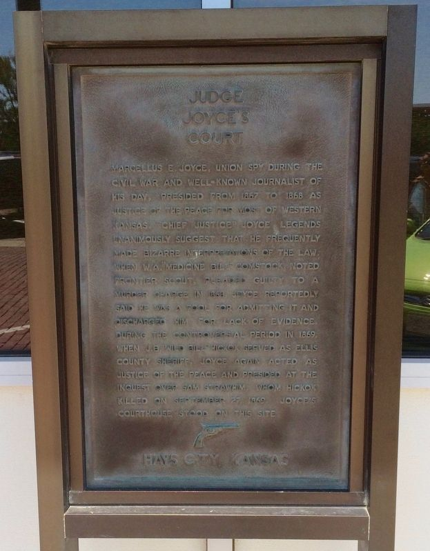 Judge Joyce�s Court Marker image. Click for full size.