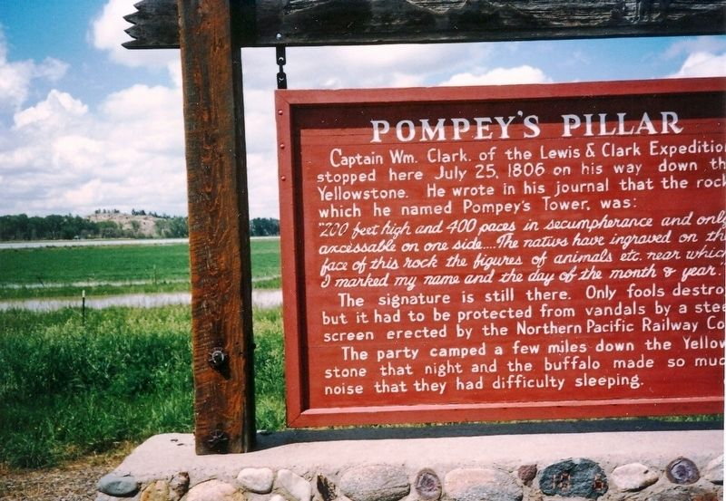 Pompey's Pillar Marker image. Click for full size.