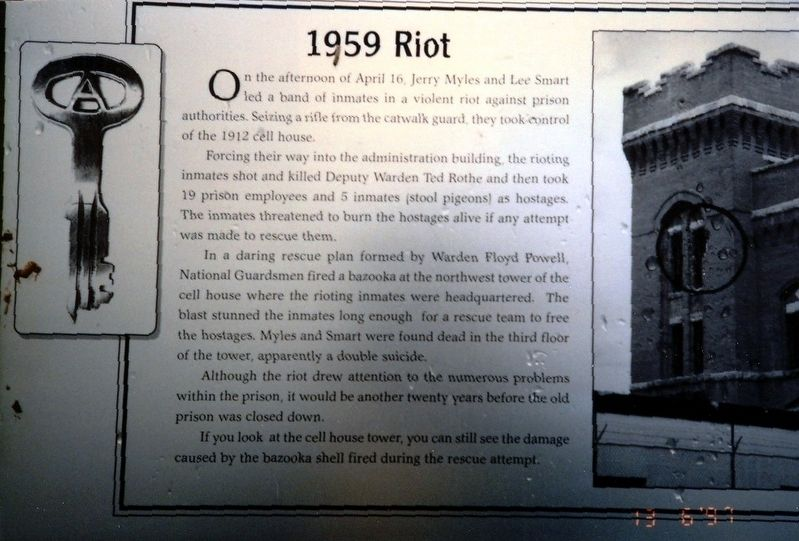 1959 Riot Marker image. Click for full size.