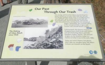 Our Past Through Our Trash Marker image. Click for full size.
