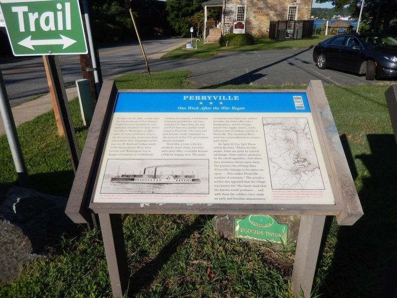 Perryville Marker image. Click for full size.