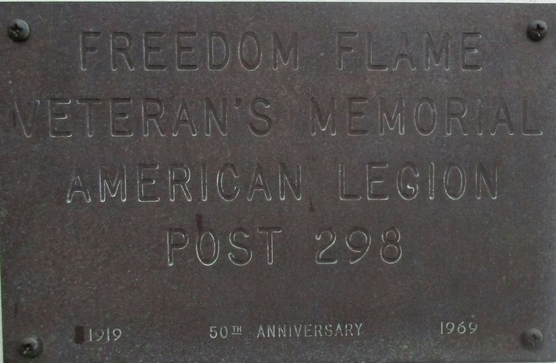 Freedom Flame Marker image. Click for full size.