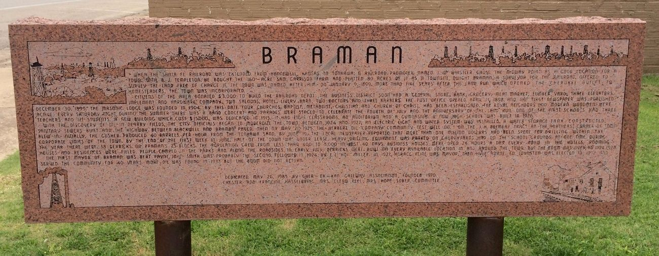 Braman Marker image. Click for full size.