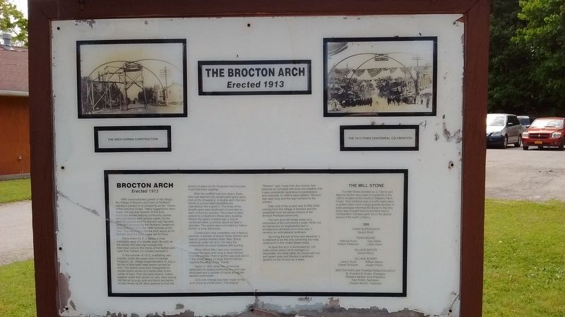 Brocton Arch Marker image. Click for full size.