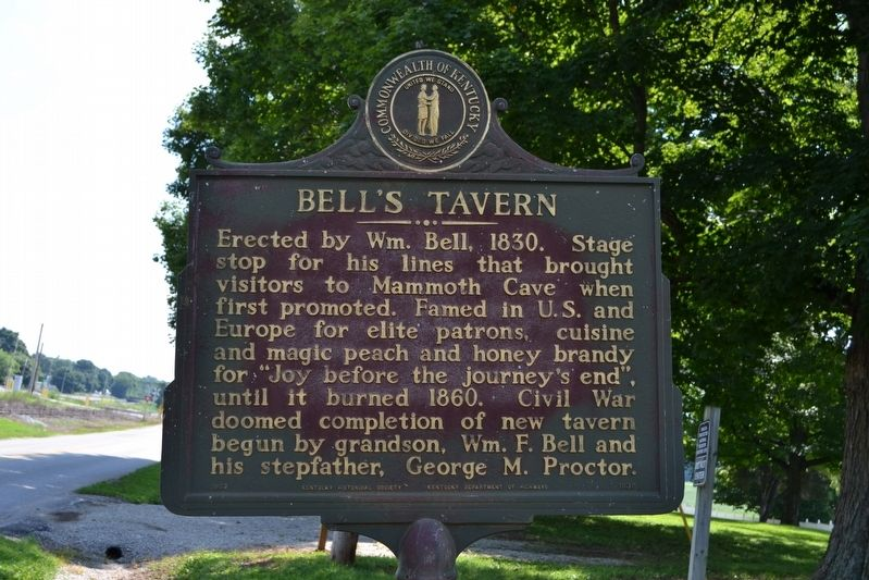 Bell's Tavern Marker image. Click for full size.
