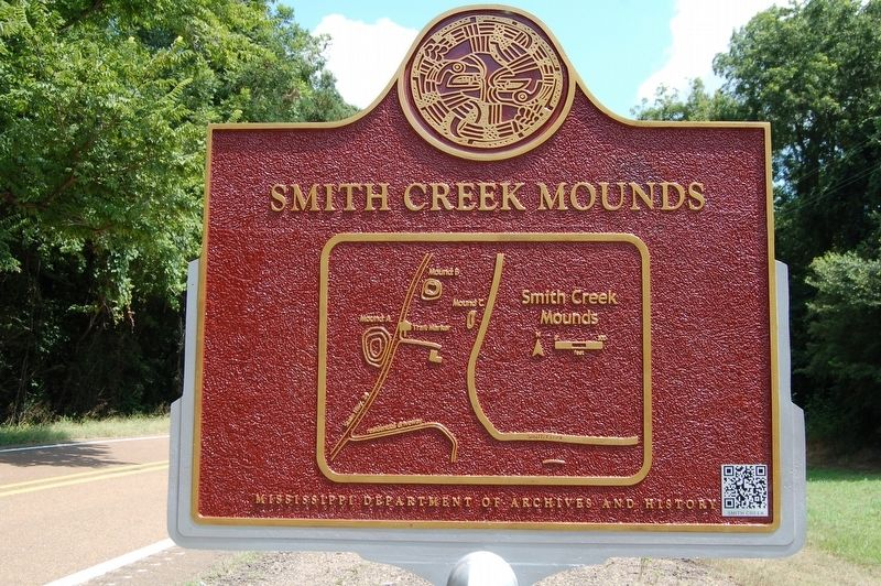 Smith Creek Mounds Marker image. Click for full size.