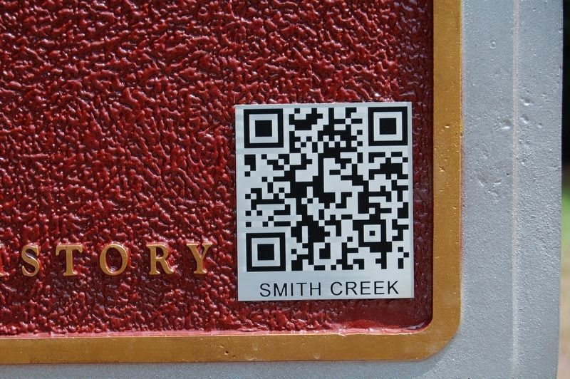 Smith Creek Mounds Marker QR code image. Click for full size.