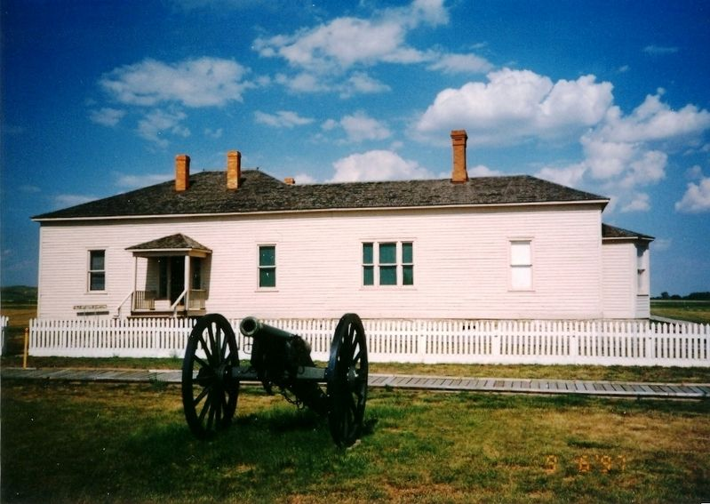 Fort Buford Historic Site image. Click for full size.