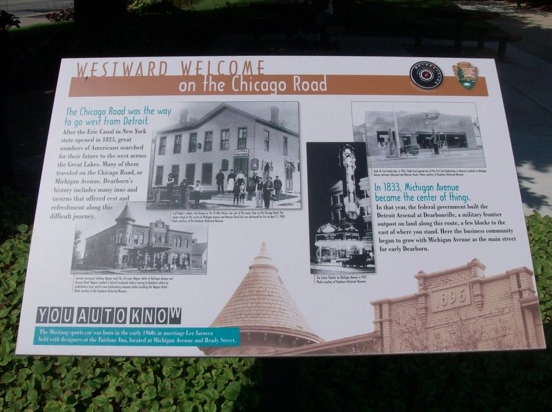 Westward Welcome Marker image. Click for full size.