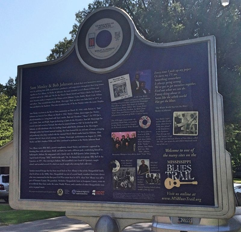 Mosley and Johnson Marker (Rear) image. Click for full size.