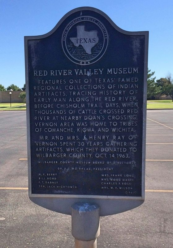 Red River Valley Museum Marker image. Click for full size.