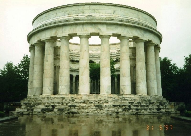 Warren G. Harding Memorial Park and Grave image. Click for full size.