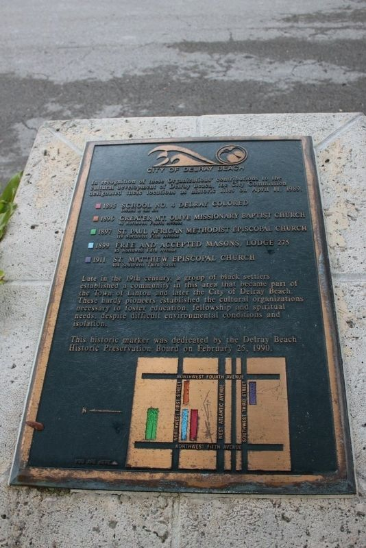City of Delray Beach History Marker image. Click for full size.