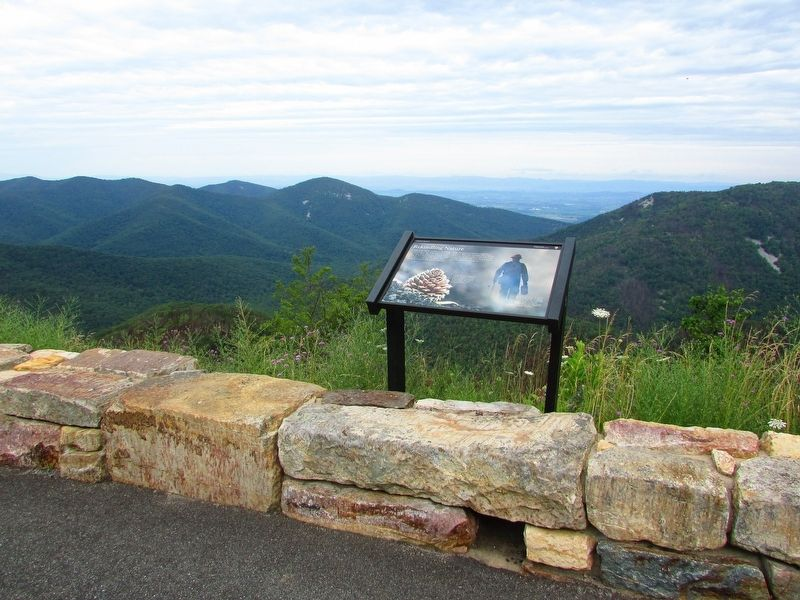 Marker in Shenandoah National Park image. Click for full size.