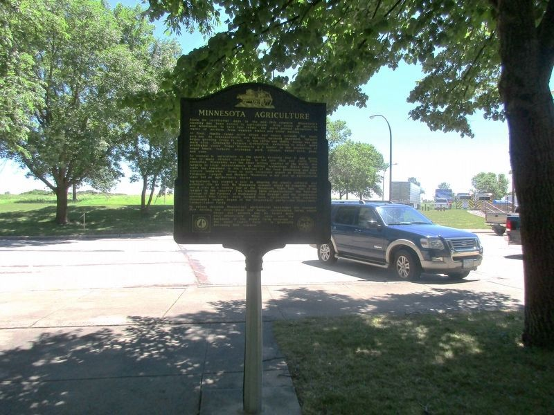 Minnesota Agriculture Marker image. Click for full size.