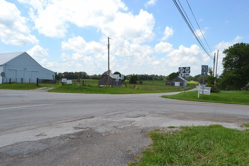 Intersection of State Highways 569 and 61 image. Click for full size.
