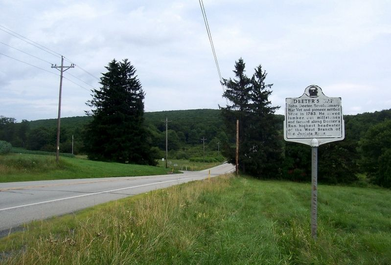 Deeter's Gap Marker image. Click for full size.
