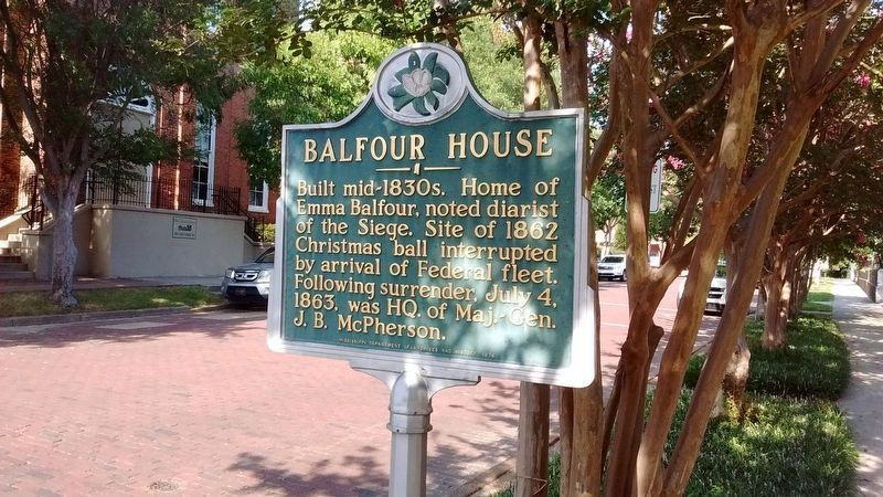 Balfour House Marker image. Click for full size.