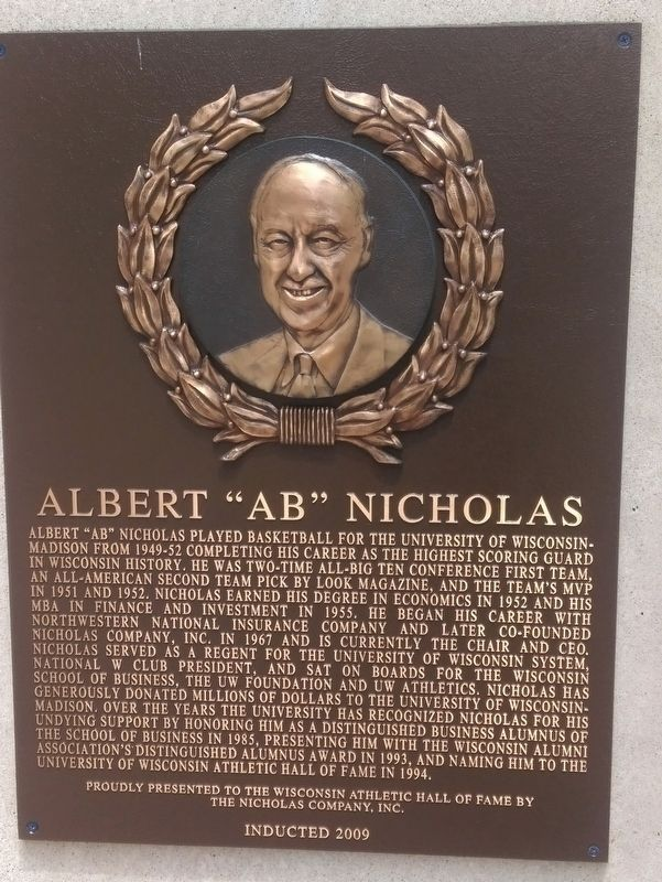 "Albert ""AB"" Nicholas Marker image. Click for full size."