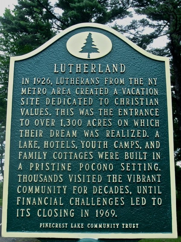 Lutherland Marker image. Click for full size.