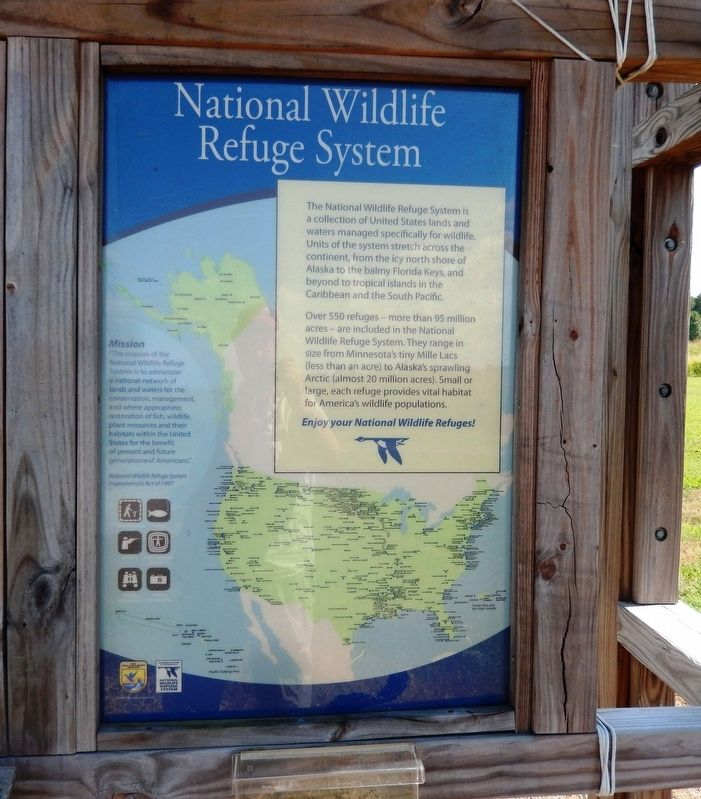 National Wildlife System Marker image. Click for full size.